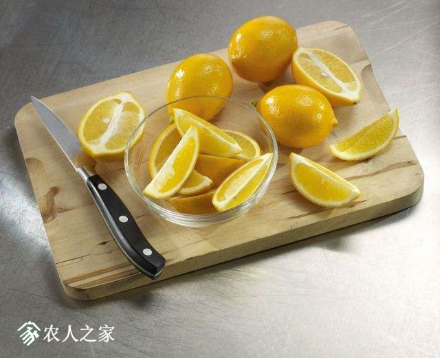 meyer lemon的果肉