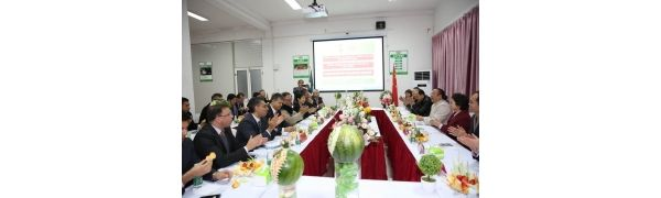 墨西哥农业代表团访问百果园上海配送中心